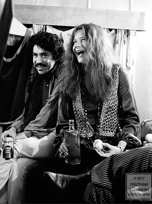 120 Luis Gasca & Janis Joplin Backstage Trailer Forest Hills Music Festival