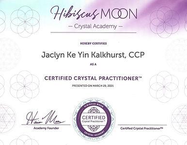 HM Crystal Healing Academy Certificate.j