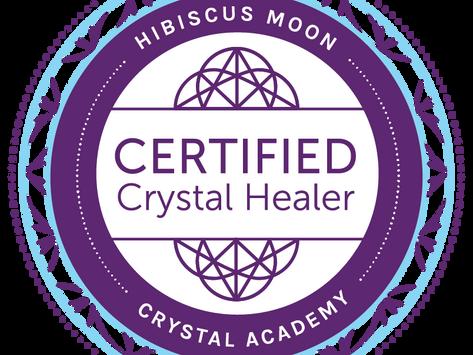 Certified Crystal Healer - Hibiscus Moon Crystal Academy