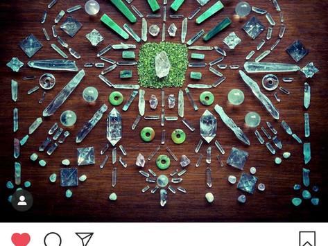 My favorite crystal grid creator - Woodlights Woudlicht