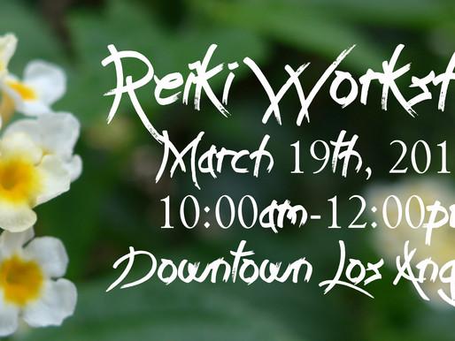 Reiki Workshop - March