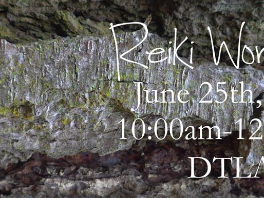 Reiki Workshop June 2016