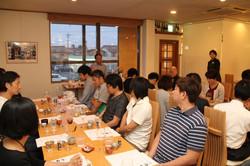 器と日本酒の関係についてのセミナー
