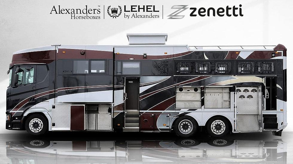 Lehel by Alexanders 26T Predator Scania S450 - 2018