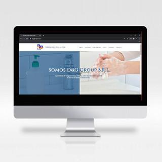 Sitio web para D&G Group S.R.L.