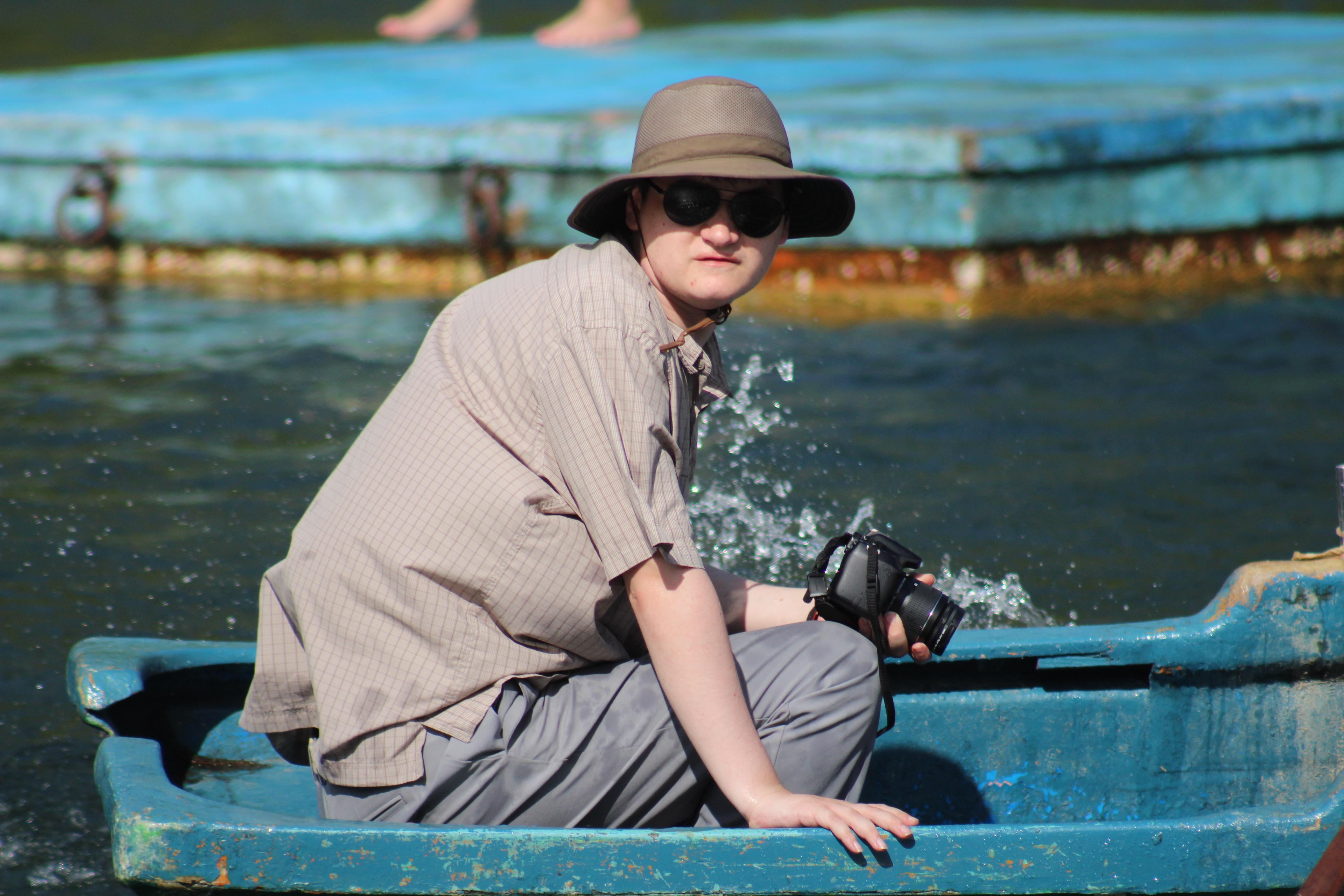 Rowing at Las Terrazas