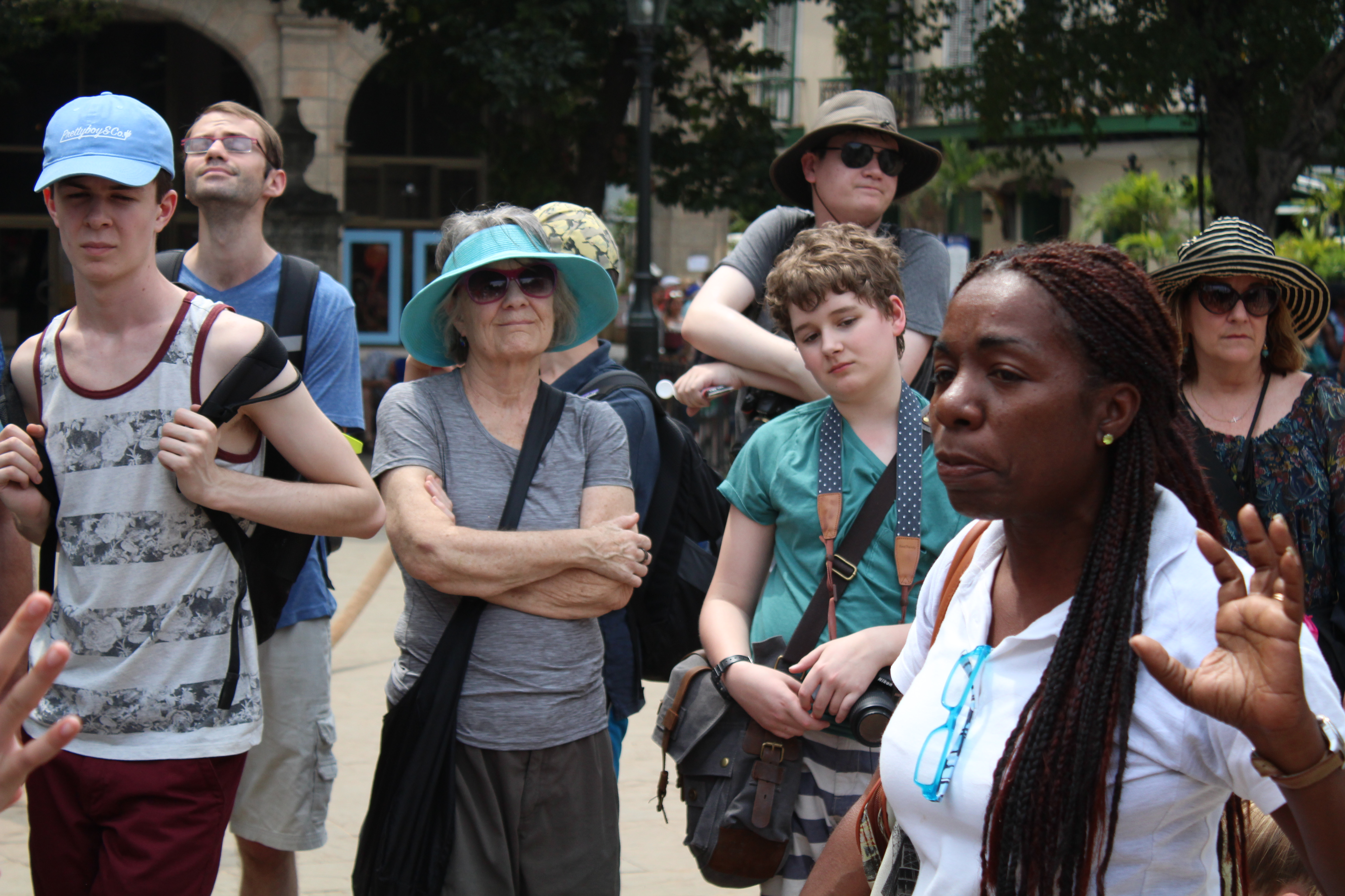 Tour Guide Gretyl in Havana