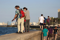 Walk along the Malecón