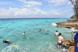 Snorkeling at the Bay of Pigs
