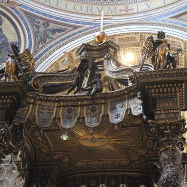 Bernini's Baldocchino
