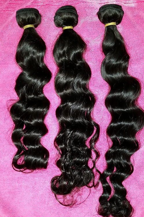 Virgin Hair Loose Wave Bundles
