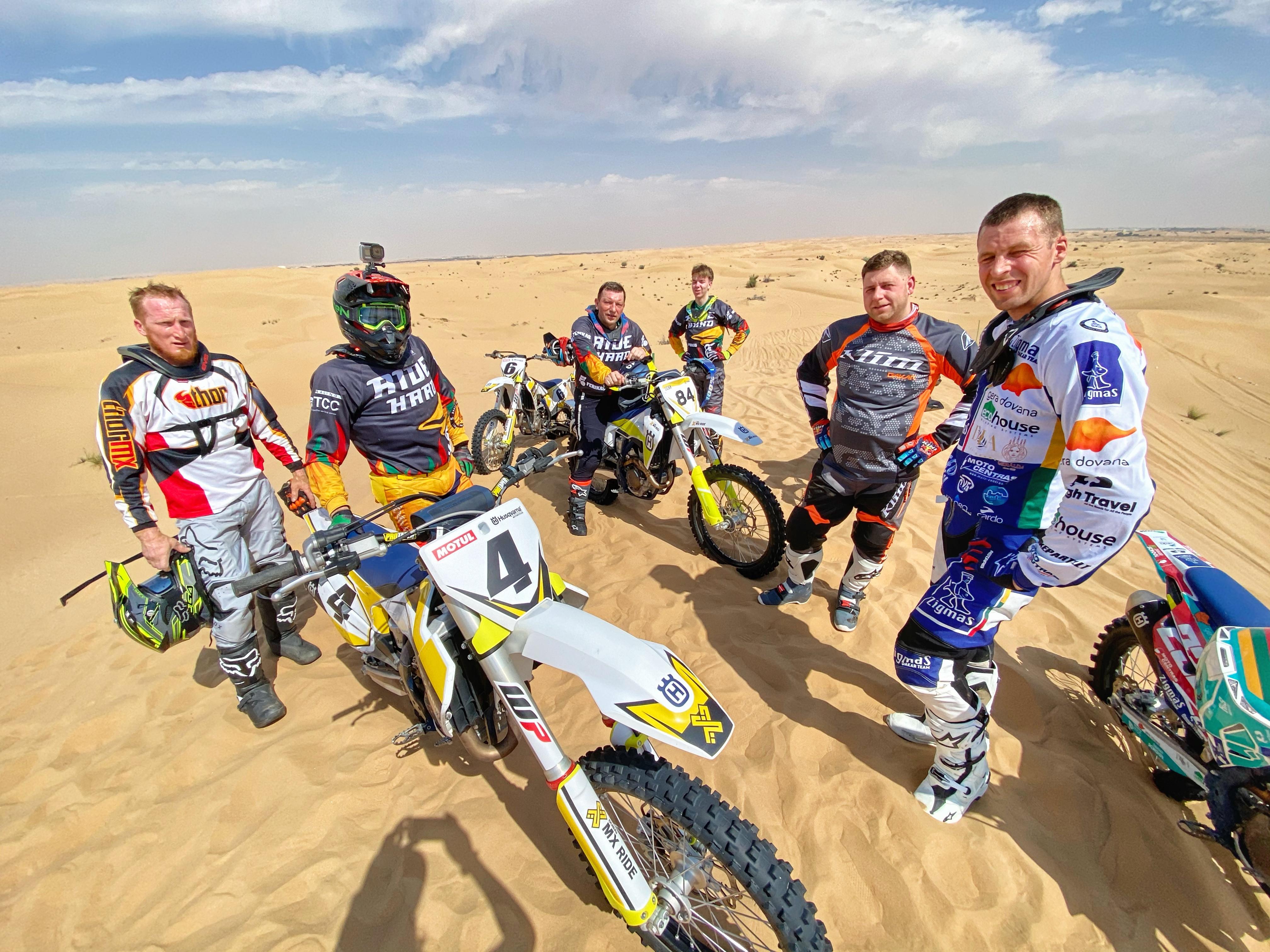 MX RIDE DUBAI: Desert Experience