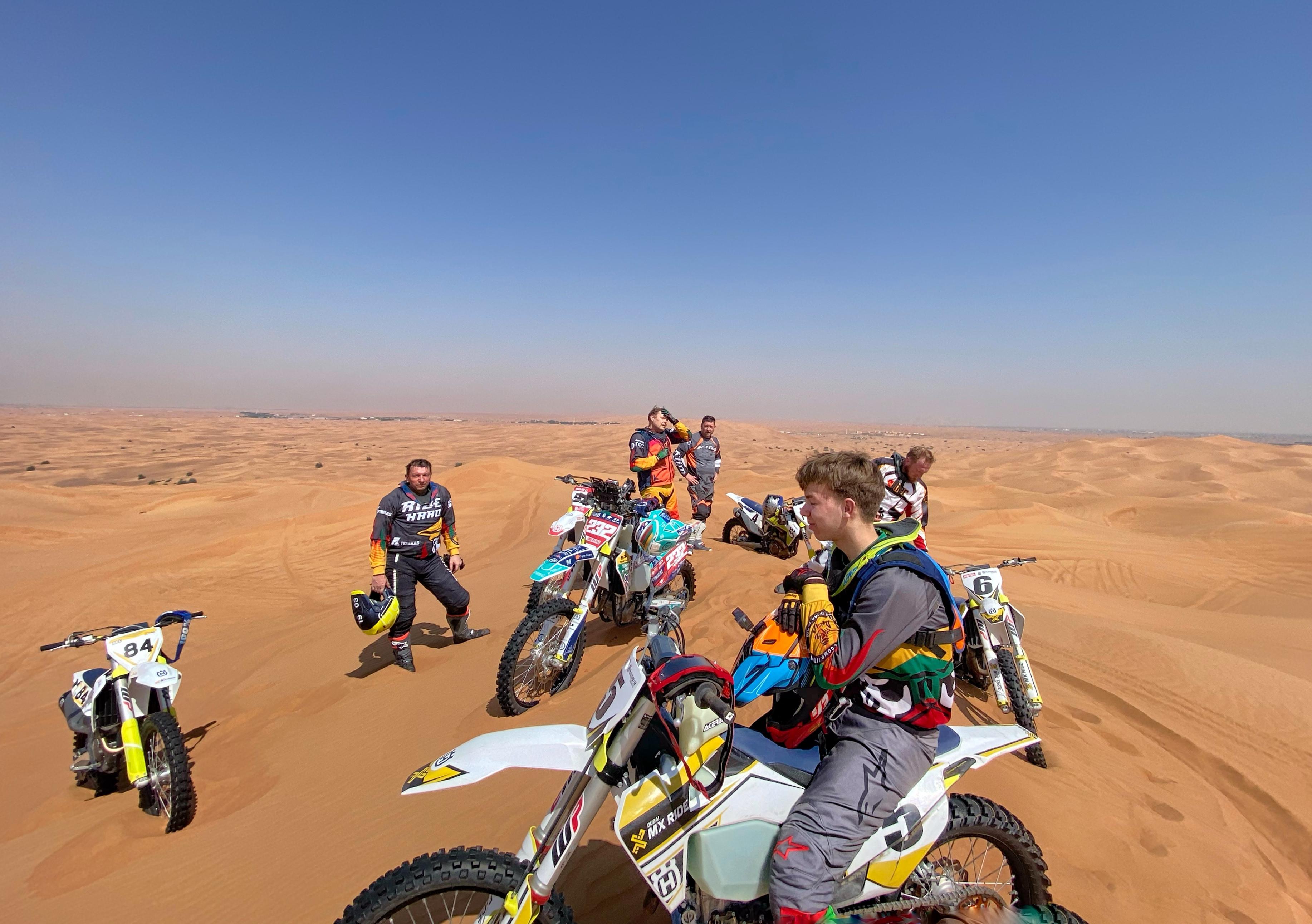 Motocross Holiday Dubai