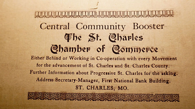 1916 Progressive St Charles Book