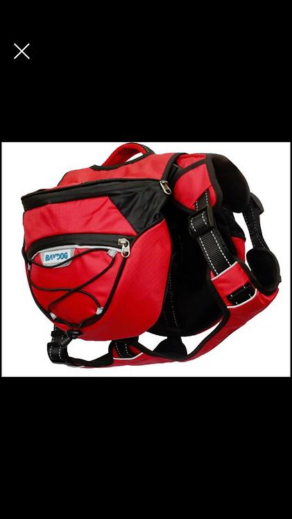 Saranac Backpack-red