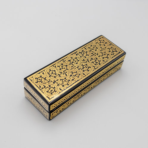 Golden Pen Box