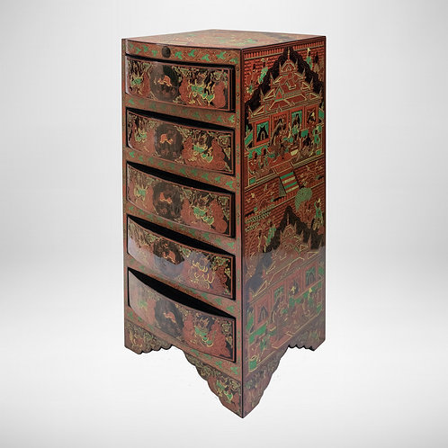 Cabinet With 5 Drawers