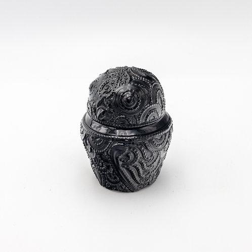 Black Owl (Embossing Lacquerware)