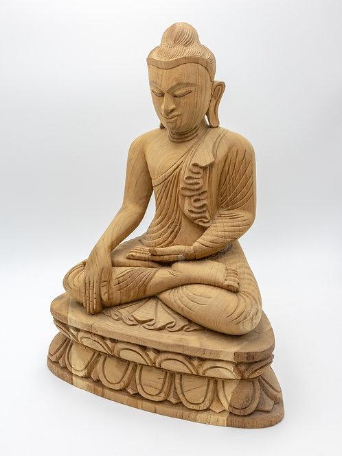 """20"""" Buddha (Wood Curving)"""