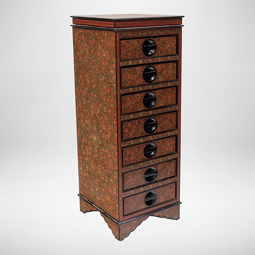 7 Drawers With Cabinet