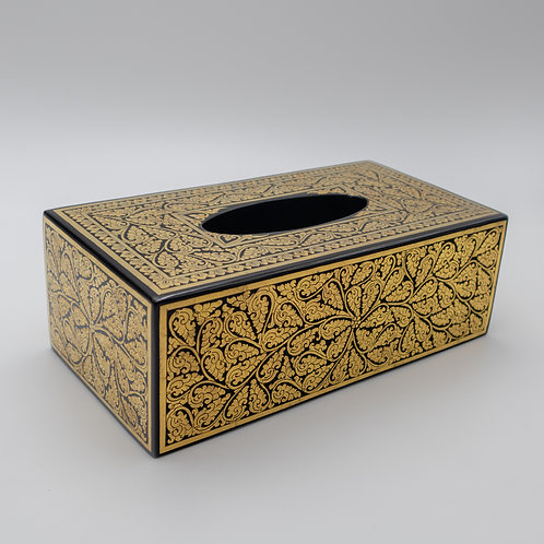 Golden Tissue Box