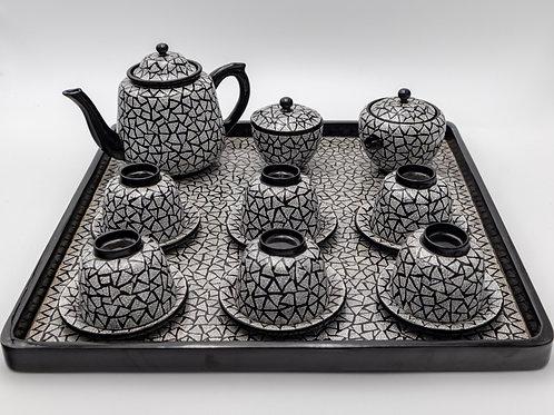 Tea Set (Egg Shell)