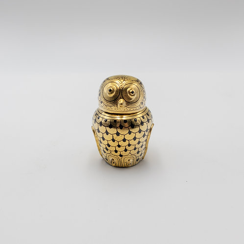 "3"" gold owl"