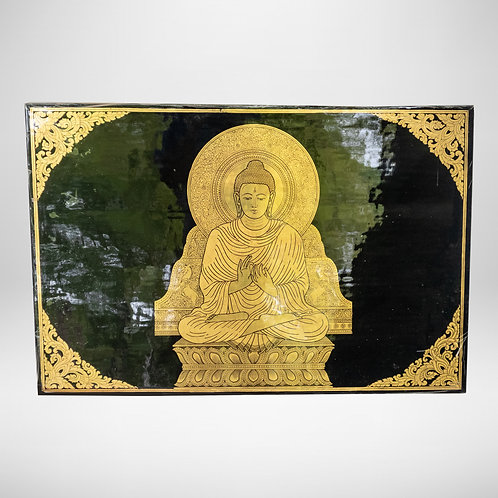 3'x2' Golden Buddha Picture