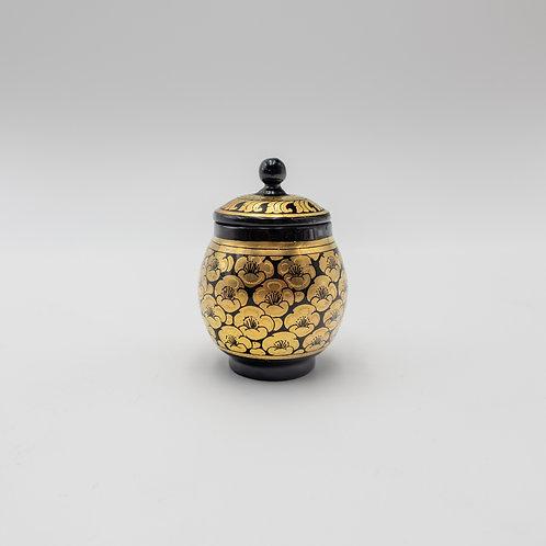"3"" gold pot"
