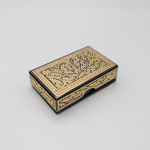 Golden Card Box