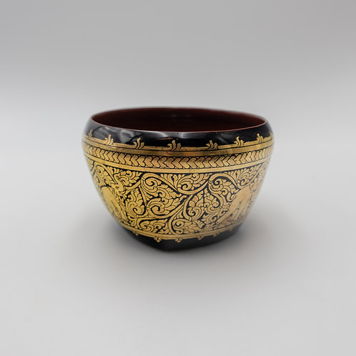 "5"" Bowl With Gold"