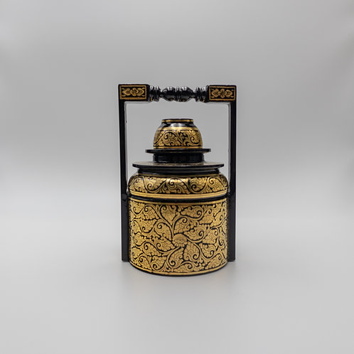 "5"" Golden Lunch Box"