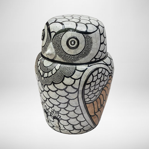 Big Owl With Egg Shell
