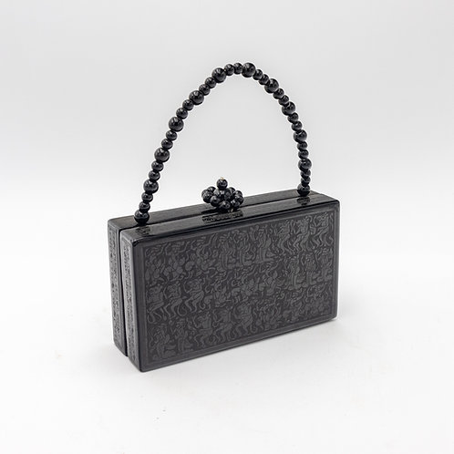 Retangular Purse (Black Design)