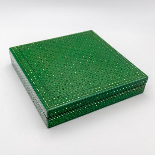 "10"" x 10"" Box (Green)"