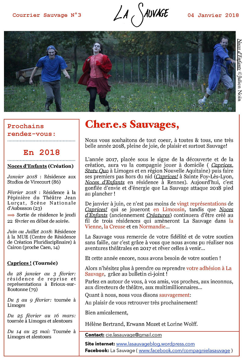courrier sauvage n°3 - image