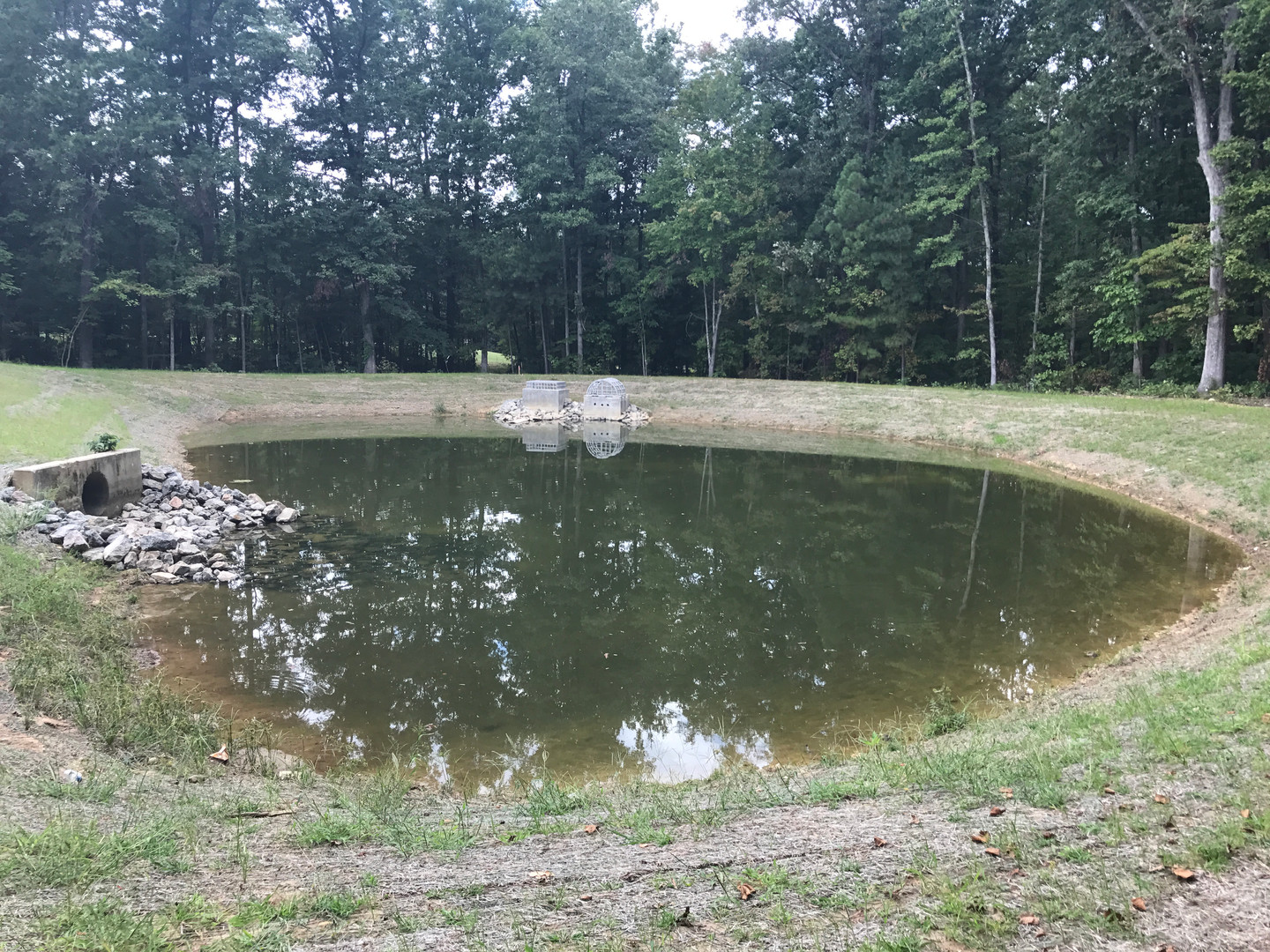 Stormwater BMP - WET POND 2