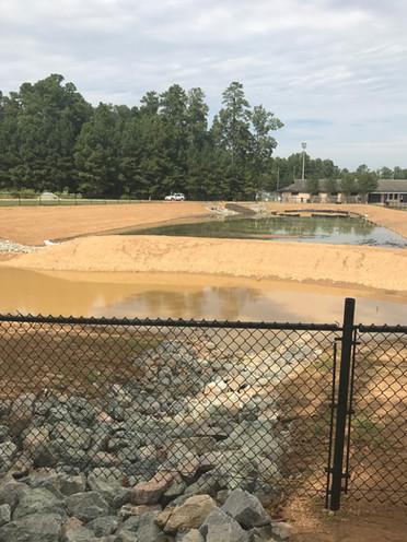 Wet Pond - Aquatic Benches