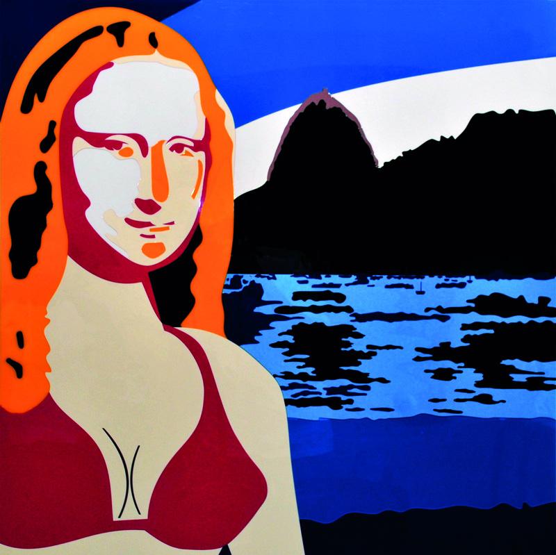 Mona Lisa no Rio