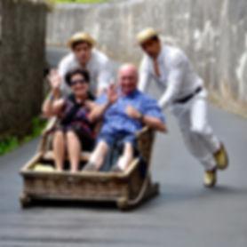 Calixto - Carro de cesto - Funchal - Por