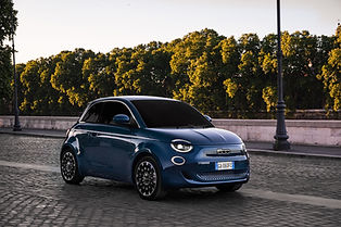 Returning back to their iconic Turin roots, the new Fiat 500e brings together classic style and innovation with an updated fresh feel.