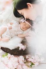 Venesha Newborn Session