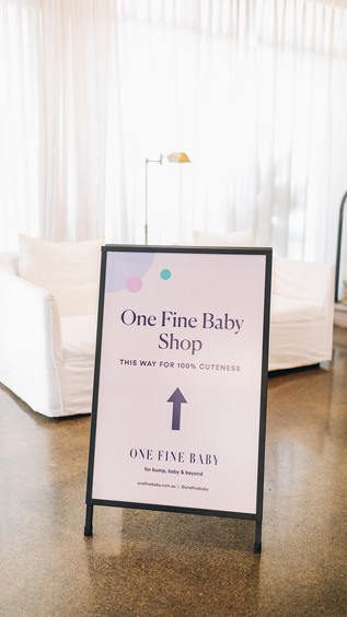One Fine Baby Sshop Launch