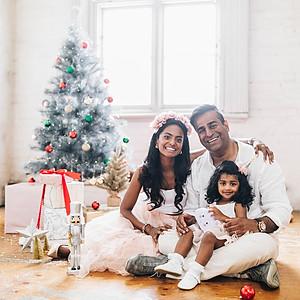 Aj, Davina, & Lakshmi Christmas Sessi