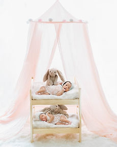Sun & Moon Photography Twins Newborn