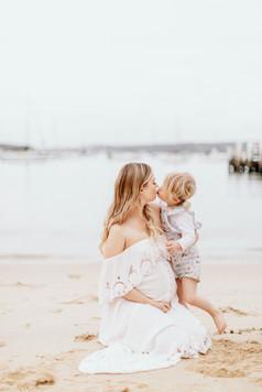 Maternity Session Sun and moon photography, Sydney Australia