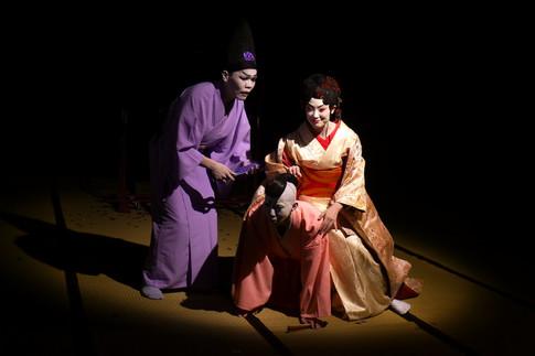 《作淫愁上-初飛花瑪莉訓子》服裝設計 ,李清照私人劇團,2011,台北/北京