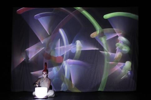 《音噪城市》服裝設計 ,莫比斯圓環創意公社,2012,亞維農