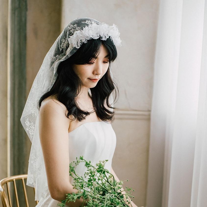 HB181400/ 蕾絲花箍