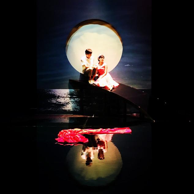《穿紅絲緞的少女》服裝設計 ,好劇團,2017,台北